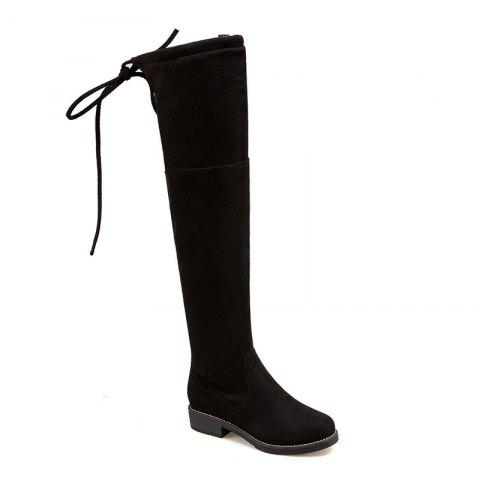 Trendy The New Bold and Round Head Sexy Show Thin Female Boots