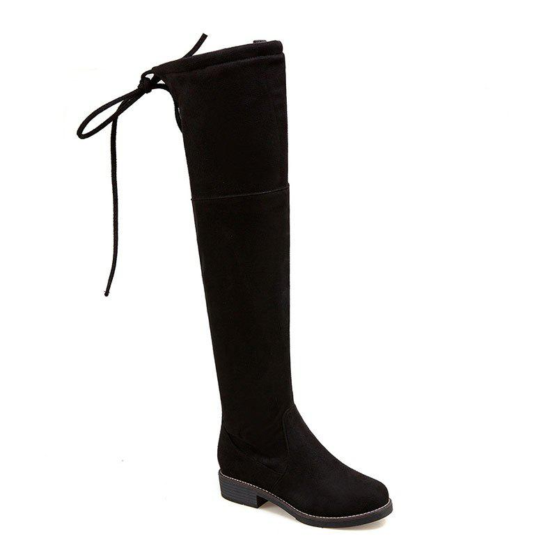 Unique The New Bold and Round Head Sexy Show Thin Female Boots
