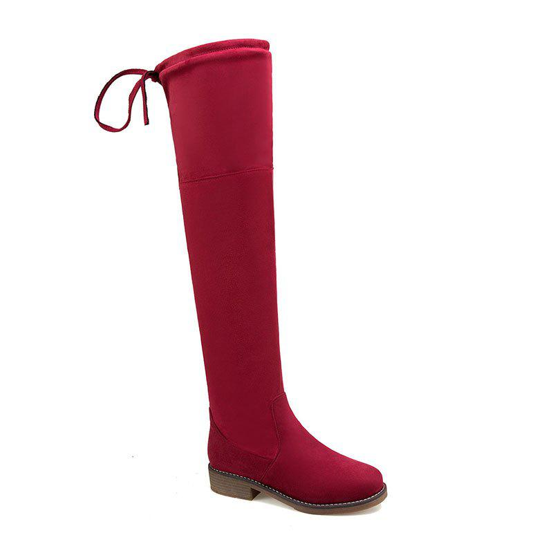Affordable The New Bold and Round Head Sexy Show Thin Female Boots