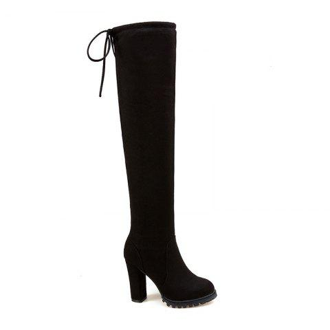 Outfits The New Style of High-Heeled and Women's Boots