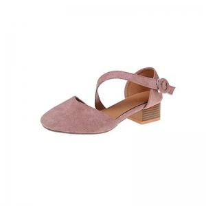 YQ-WK210 Thick with Suede Shoes with Shallow Mouth All-Match -