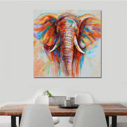 African Elephant Printed Printing -
