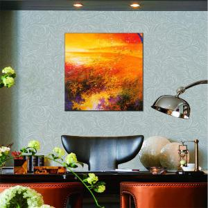 Hua Tuo Abstract Oil Painting Size 70 x 70CM HT - 5369 -