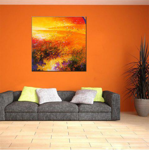Store Hua Tuo Abstract Oil Painting Size 70 x 70CM HT - 5369