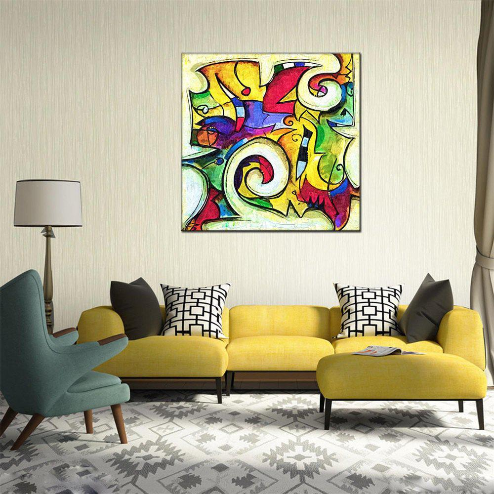 Outfits Hua Tuo Abstract Style Oil Painting for Home Decor