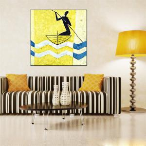 Hua Tuo Abstract Oil Painting Home Decor -