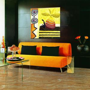 Hua Tuo Abstract Wall Oil Painting for Home Decor -
