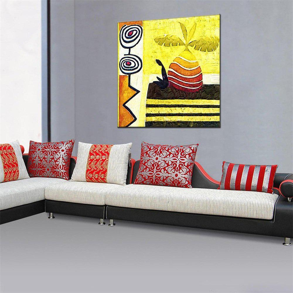 Unique Hua Tuo Abstract Wall Oil Painting for Home Decor