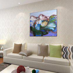 Hua Tuo Flower Print Oil Painting -