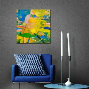 Hua Tuo Abstract Oil Painting Size 70 x 70CM HT-5378 -