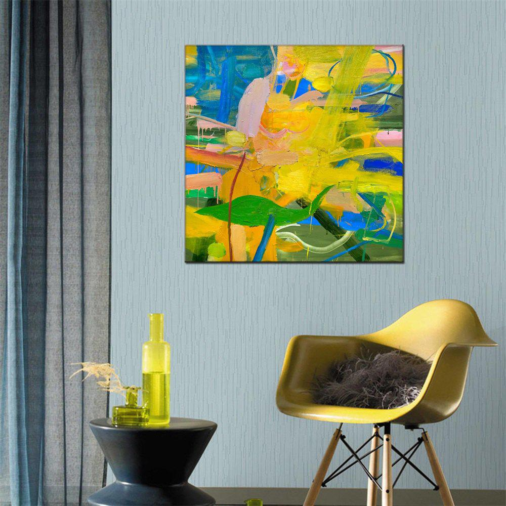 New Hua Tuo Abstract Oil Painting Size 70 x 70CM HT-5378