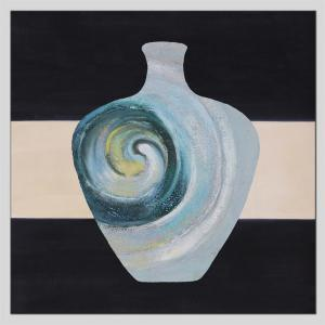 Hua Tuo Vase Oil Painting Размер 70 x 70 см HT-5380 -