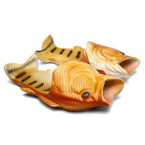 Fancy Men Beach Fish Slippers Male