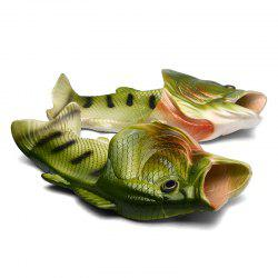 Men Beach Fish Slippers Male -