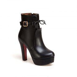 The New Ultra High and Fashion Ladies Martin Boots -