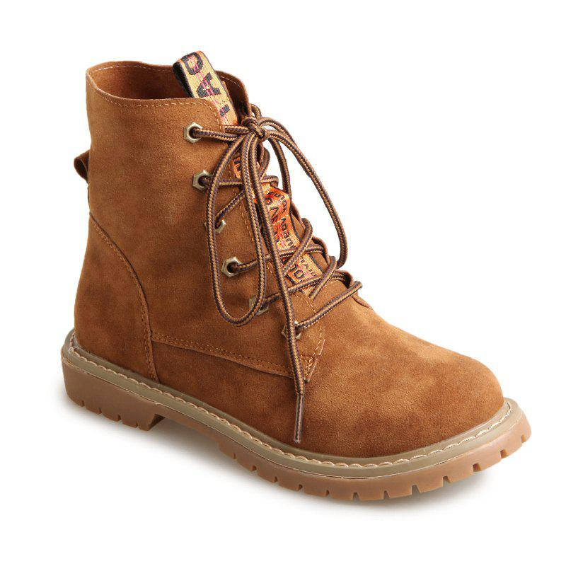 Trendy Women's Fashionable Casual Martin Boots
