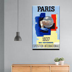 YHHP Canvas Print Pop Art Poster Paris Wall Decor for Home Decoration -