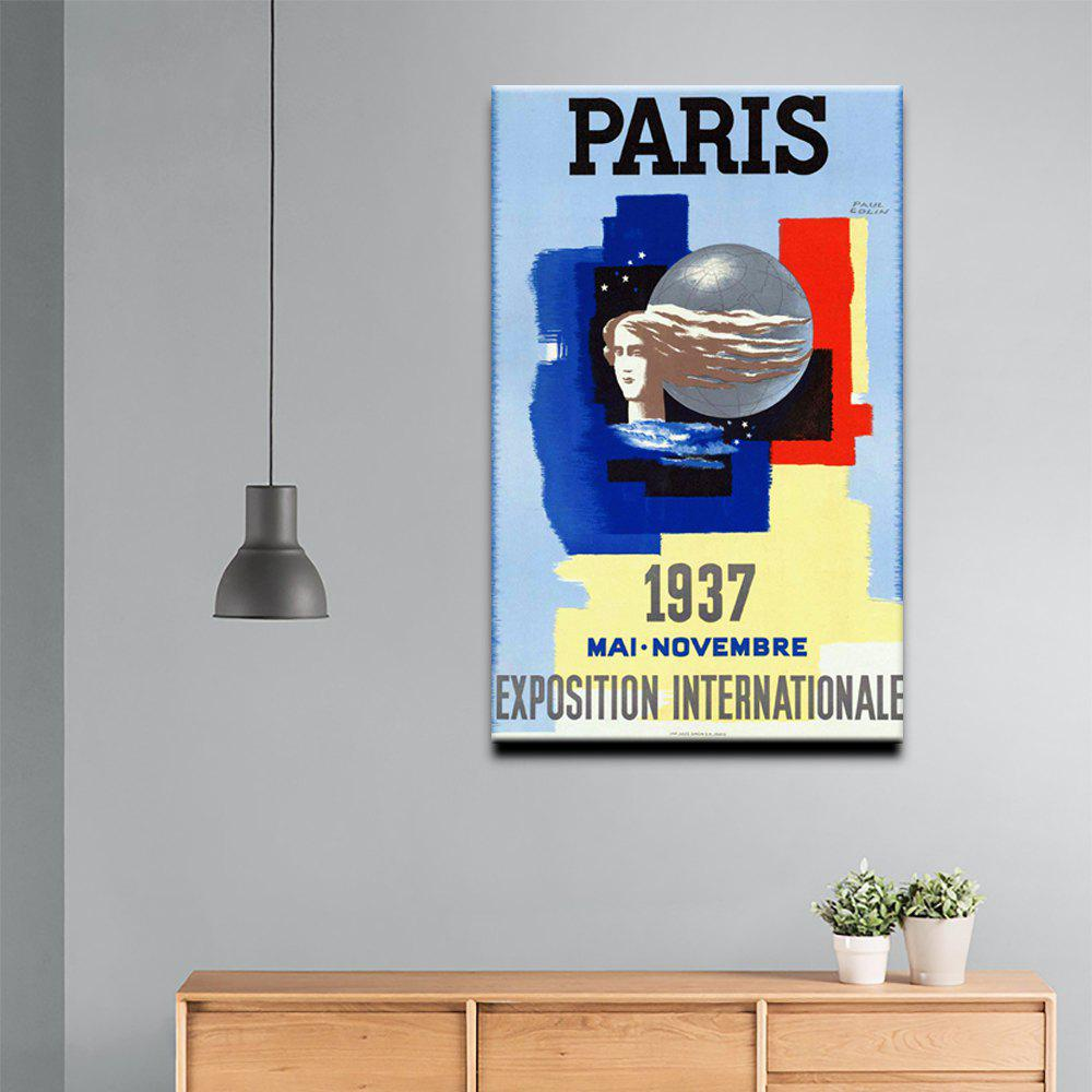 Shops YHHP Canvas Print Pop Art Poster Paris Wall Decor for Home Decoration