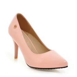 Women's Heels Formal Shoes Leatherette Spring Fall Wedding Dress Formal Shoes Stiletto Heel -