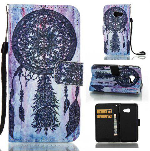 New Creative Painted PU Phone Case for Samsung Galaxy A3 2017