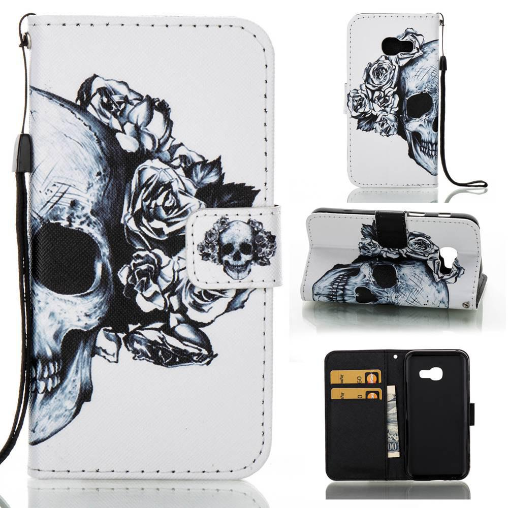 Buy Creative Painted PU Phone Case for Samsung Galaxy A3 2017