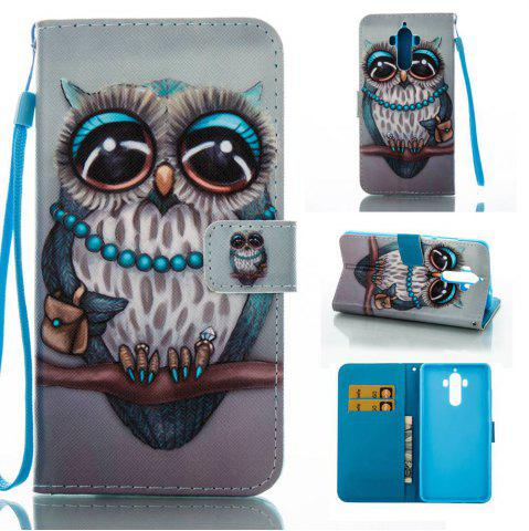 Discount Creative Painted PU Phone Case for HUAWEI Mate 9