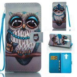 Creative Painted PU Phone Case for HUAWEI Mate 9 -