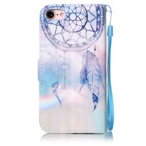 Dream Chimes Painted PU Phone Case for iPhone 7 / 8 -
