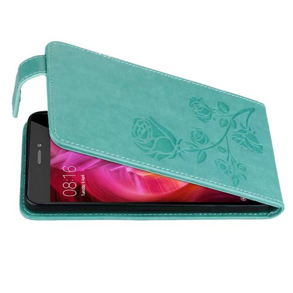 Affordable Embossed Rose Flower Pattern Vertical Flip Leather Case with Card Slot for Xiaomi Redmi Note 4/ Note4x High