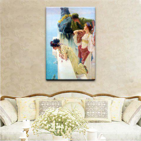Outfits YHHP Canvas Print Classical Characters Wall Decor For Home Decoration