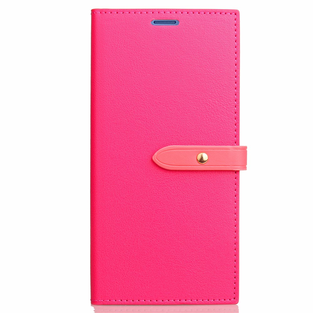 Sale Velcro Business Card Lanyard Pu Leather for HUAWEI Honor 8 Pro
