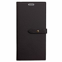 Velcro Business Card Lanyard Pu Leather for iPhone  5/ 5S/ SE -