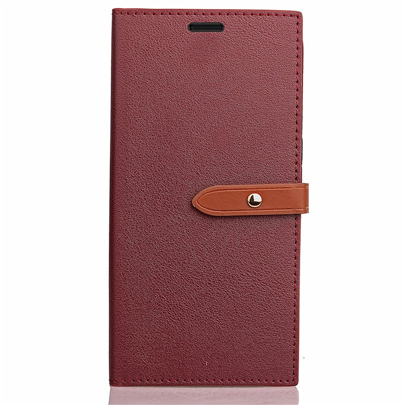 Cheap Business Card Slot Lanyard PU Leather Phone Case for Xiaomi Redmi 4X