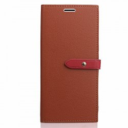 Business Card Slot Lanyard PU Leather Phone Case for Xiaomi Redmi Note 4X -