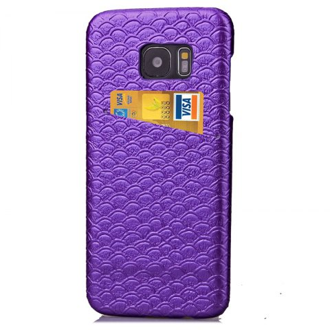 Online Mermaid Line Card Lanyard Pu Leather for Samsung Galaxy S7