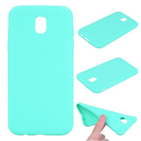 Outfits Textured Ultra-Slim TPU Soft Back Case for Samsung Galaxy J5 2017 (Europe Edition)