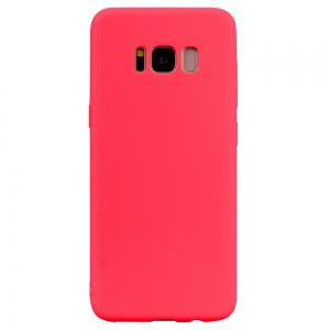Textured Ultra-Slim TPU Soft Back Case for Samsung Galaxy S8 -