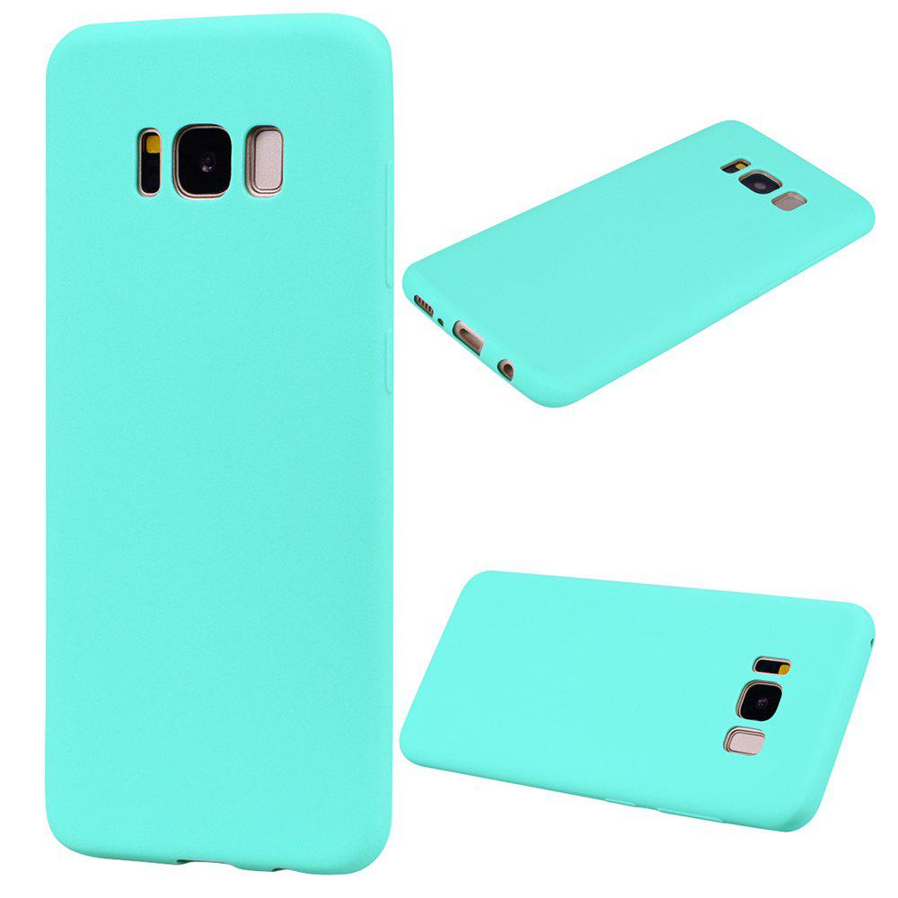 Affordable Textured Ultra-Slim TPU Soft Back Case for Samsung Galaxy S8