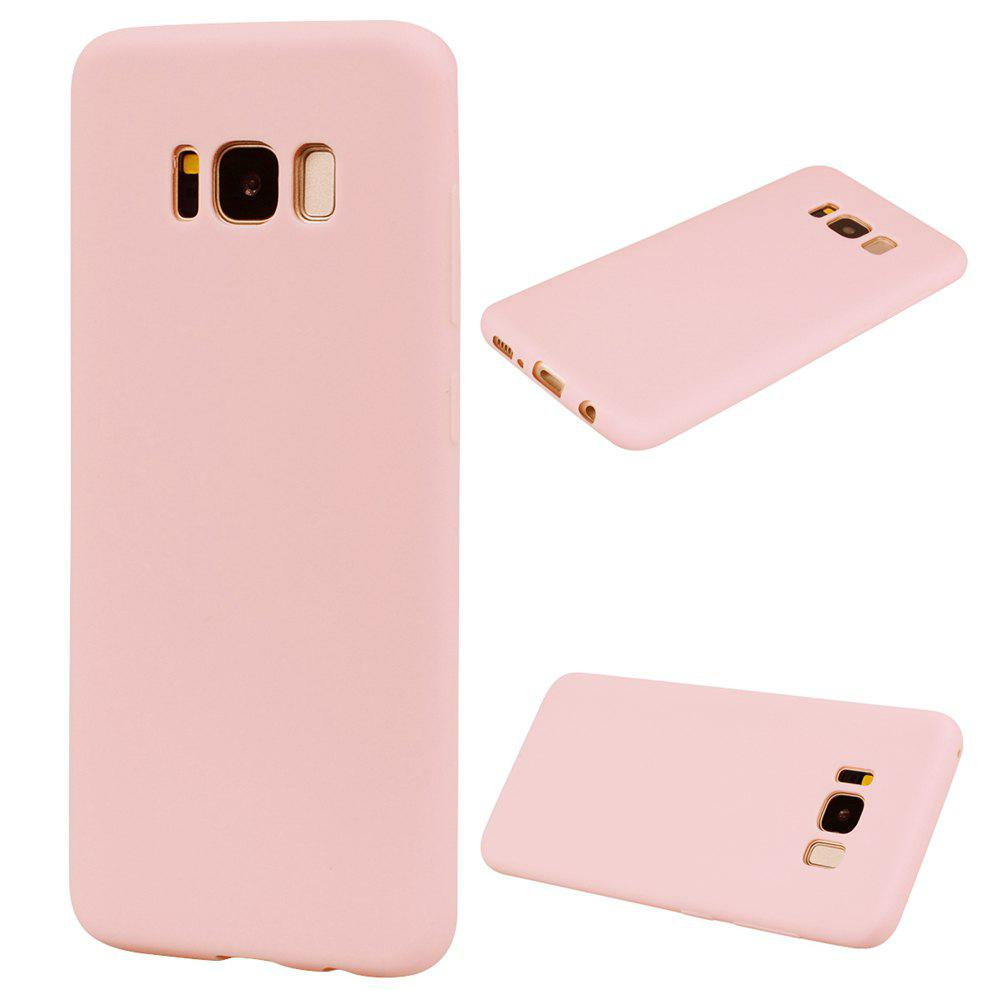 Sale Textured Ultra-Slim TPU Soft Back Case for Samsung Galaxy S8
