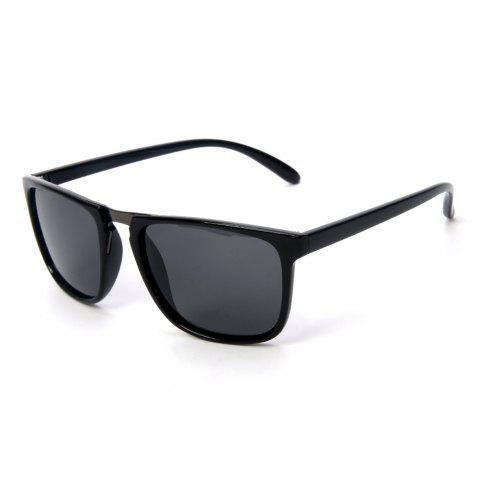 Buy TOMYE P6071 Fashion Neutral PC Square Frame Polarized Sunglasses