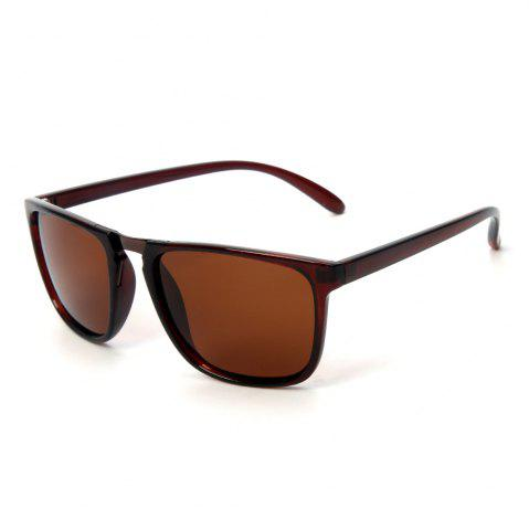 Chic TOMYE P6071 Fashion Neutral PC Square Frame Polarized Sunglasses