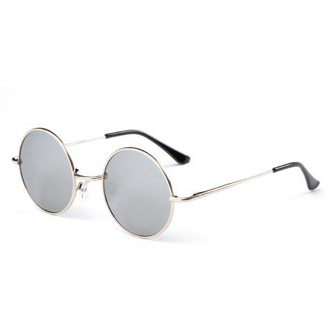 Fancy TOMYE G103 Retro Metal Round Frame Unisex Polarized Sunglasses