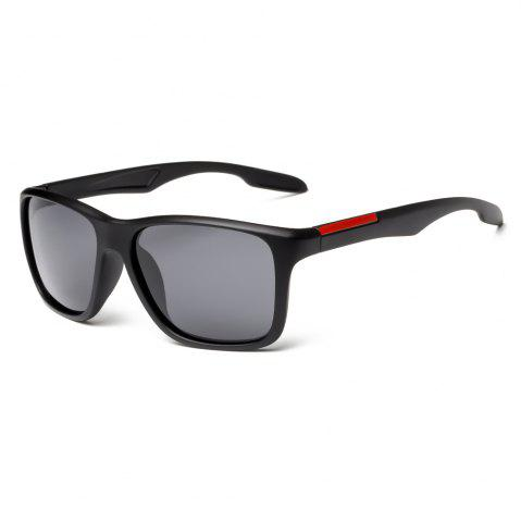 Outfits TOMYE P6023 2018 New PC Square Frame Driver Polarized Sunglasses