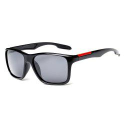 TOMYE P6023 2018 New PC Square Frame Driver Polarized Sunglasses -