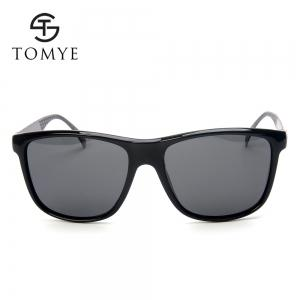 TOMYE P6029 2018 New PC Metal Square Frame Driving Polarized Men Sunglasses -