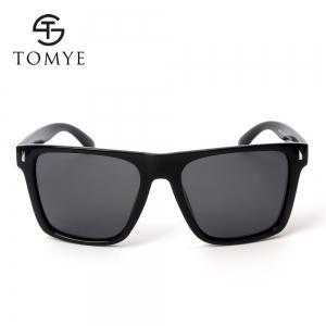 TOMYE P6070 Fashion PC Square Frame Driving Polarized Sunglasses for Men -