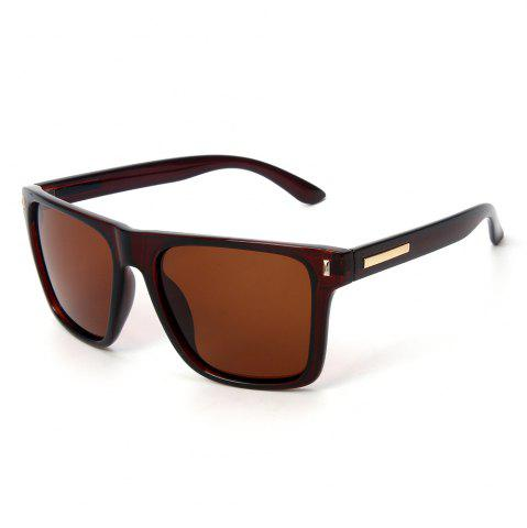 Chic TOMYE P6070 Fashion PC Square Frame Driving Polarized Sunglasses for Men