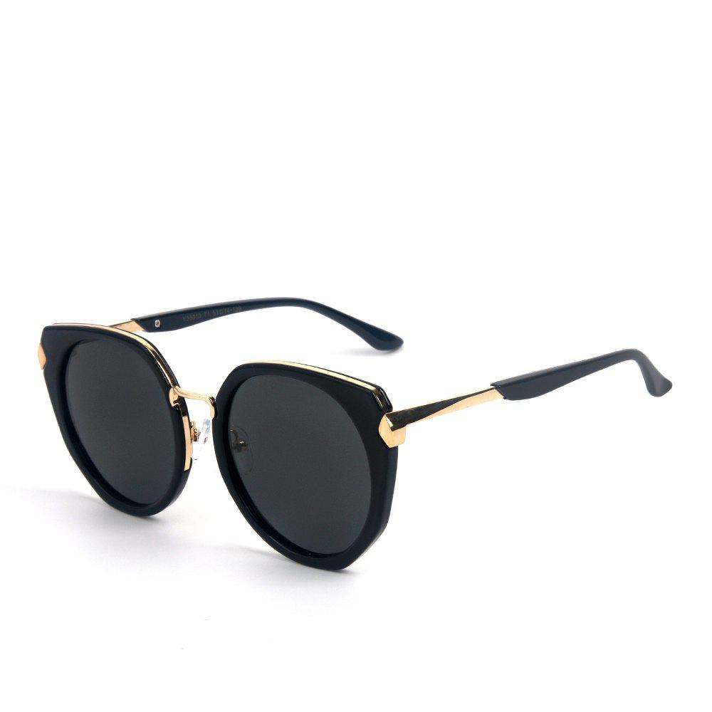 Store TOMYE 55910 Polarized Sunglasses for Women 2018 New Fashion PC Metal Colorful Cat Eye