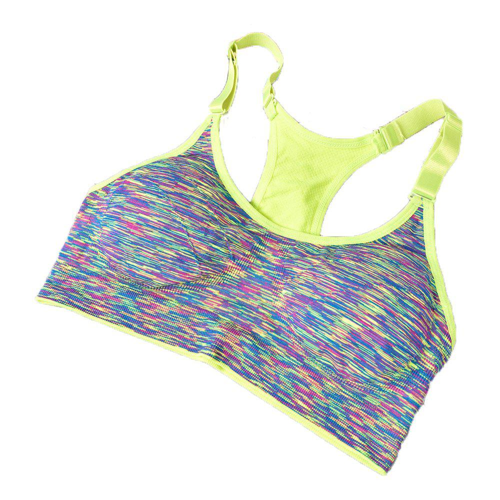 58bb1d2a195e7 Shops Comfortable Sexy Young Girl Seamless Sport Bra for Yoga Running  Underwear
