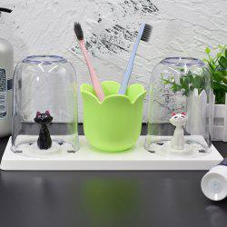 Toothbrush Rack Gargle Set Gargle Cup -